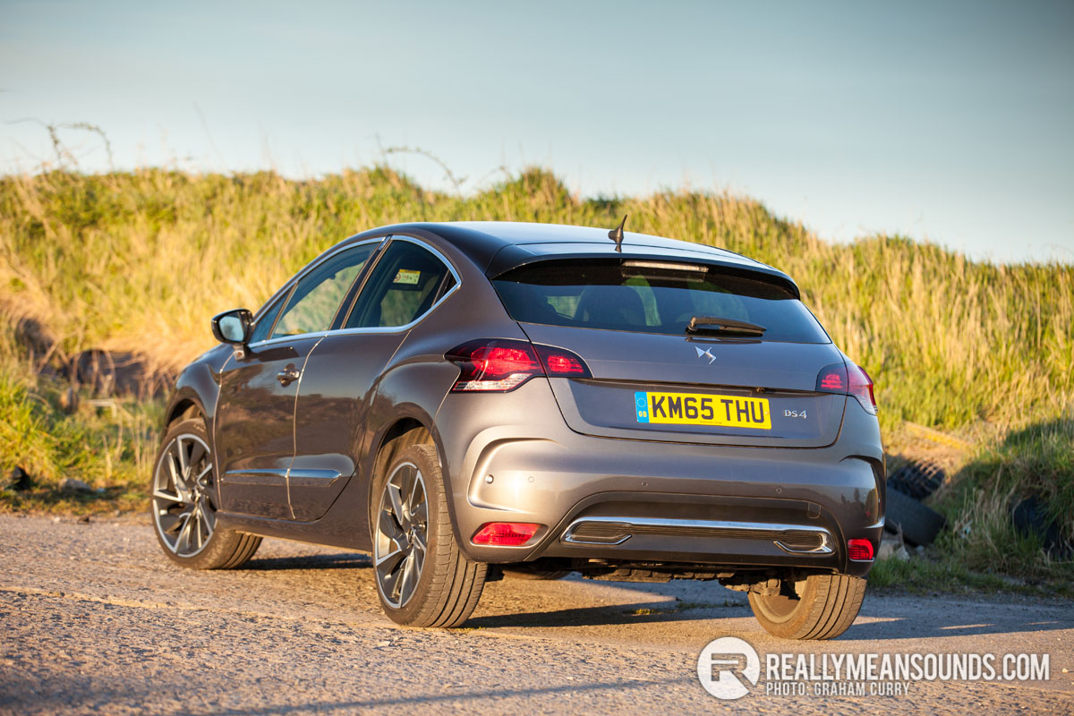 Rear of Citreon DS4
