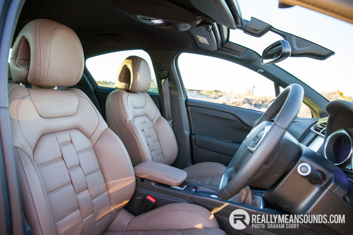 Citreon DS4 Seats