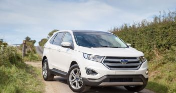 Front of Ford Edge