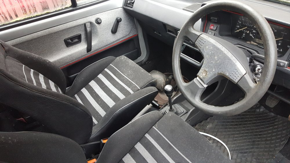 1986 vw polo coupe s project rms motoring forum. Black Bedroom Furniture Sets. Home Design Ideas