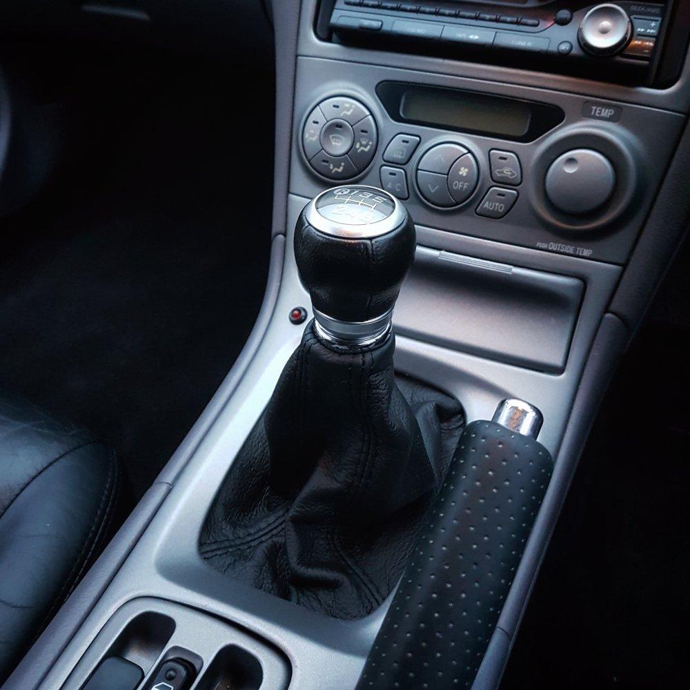 Interior Parts Toyota Gt86 Subaru Brz Leather Gearknob