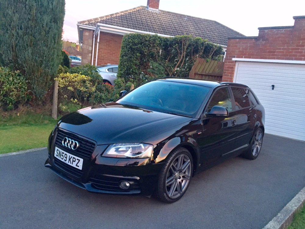 brilliant black 2009 audi a3 s line sportback black edition 1 8tfsi rms motoring forum. Black Bedroom Furniture Sets. Home Design Ideas
