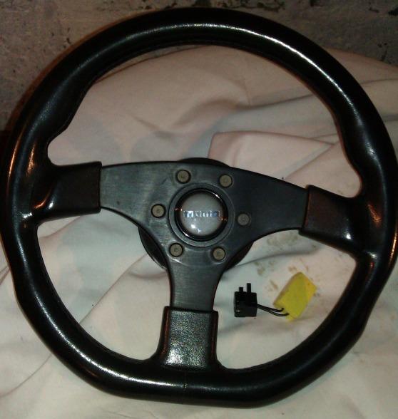 Interior Parts: - evo 4/5/6 momo steering wheel | RMS