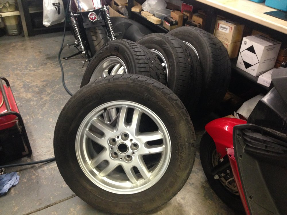Swap My 18'' Range rover wheels for 16'', 5x120 | RMS Motoring Forum