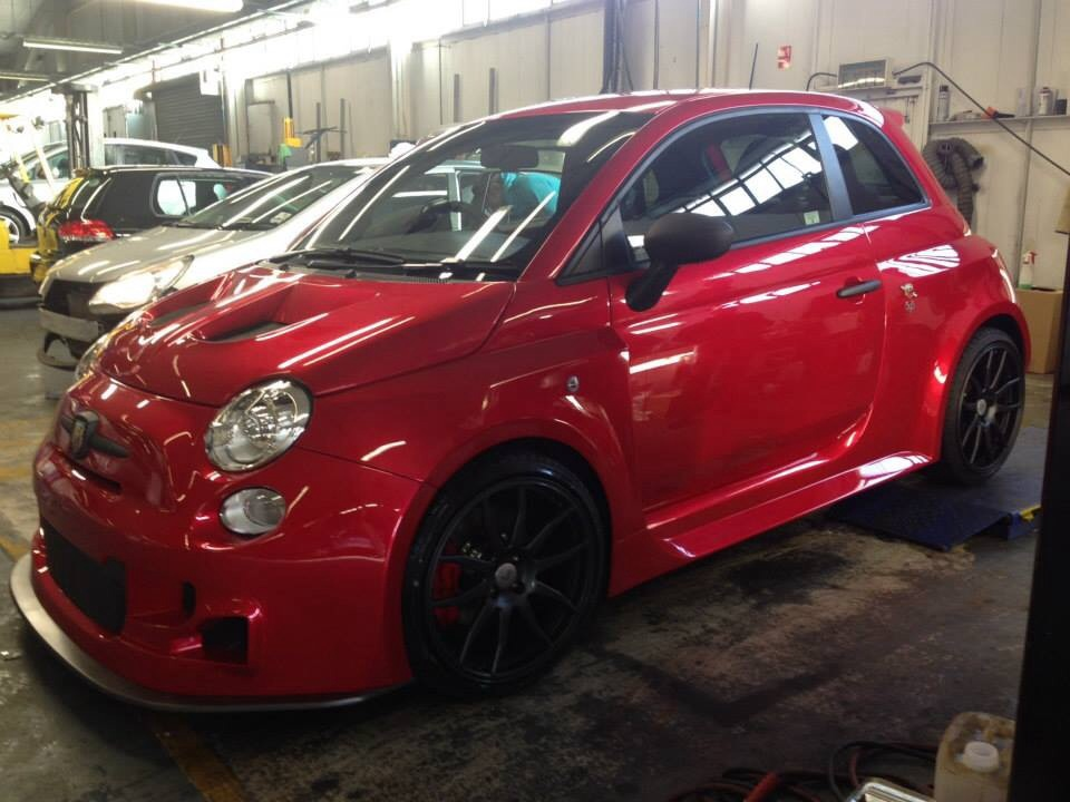 tmc motorsport abarth 595 widebody page 2 rms motoring. Black Bedroom Furniture Sets. Home Design Ideas