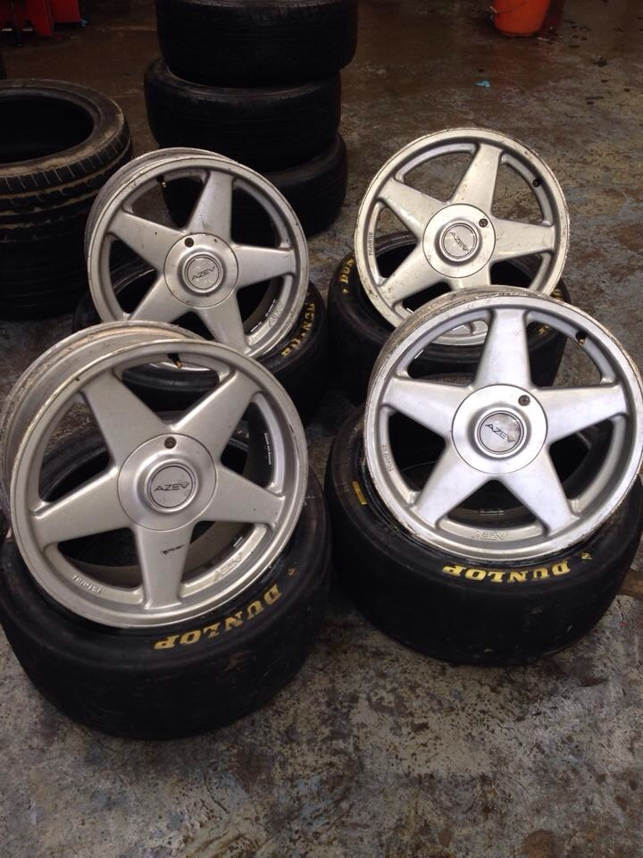 Wheels Or Tyres Set Of 17 Azev As 4x100 Rms Motoring