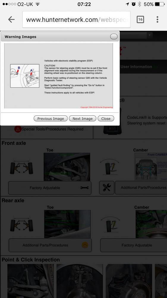 Alignment done, ESP fault | RMS Motoring Forum