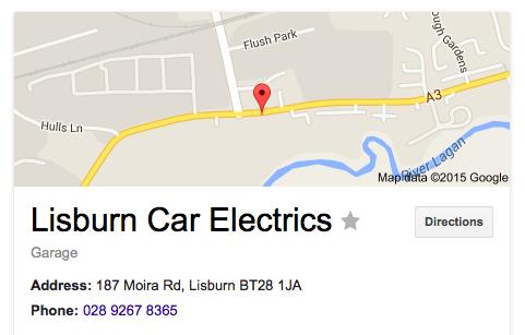 Lisburn Car Electrics Lisburn