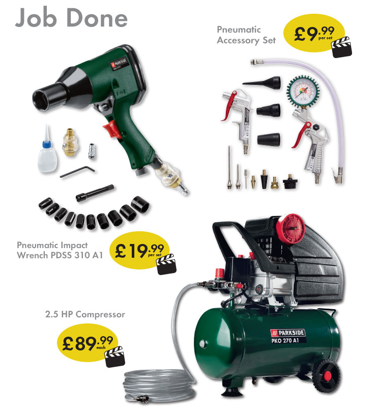 Active Deal - Lidl Parkside Compressor and Accessories ...