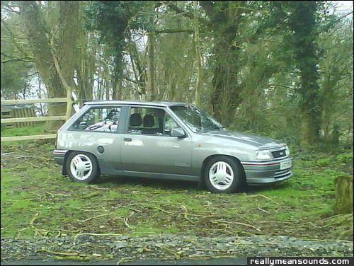 Vauxhall Nova Gsi. Vauxhall nova gsi 1001