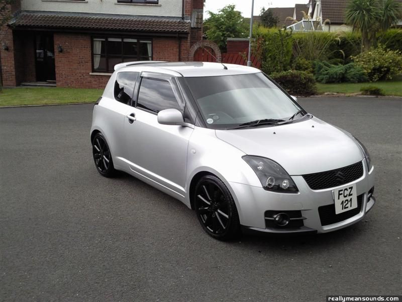 mcquit dog 39 s suzuki swift sport 2006 rms garage. Black Bedroom Furniture Sets. Home Design Ideas