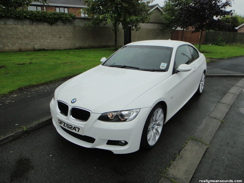 BMW 320d M-Sport Highline 2009 (Smoothie)