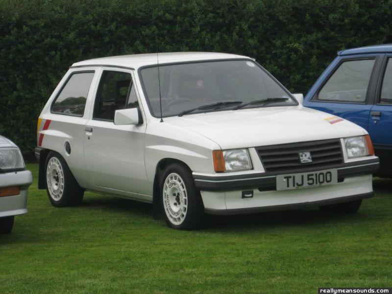 Amg306 S Vauxhall Sport 1985 Rms Garage