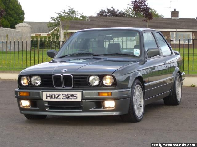 Sidewaysalwayss BMW E I Sport RMS Garage - Bmw 1989 e30