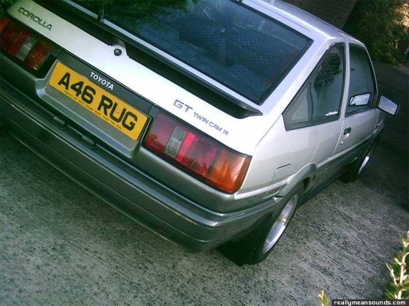 RMS Garage: 's 1984 Toyota ae86 trueno