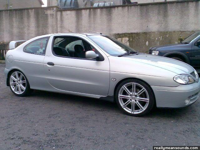 Renault Megane Coupe 2001 Renault Megane Coupe 2001