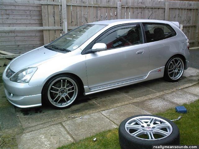 R Type Honda >> RMS Garage: 's 2005 Honda civic type r