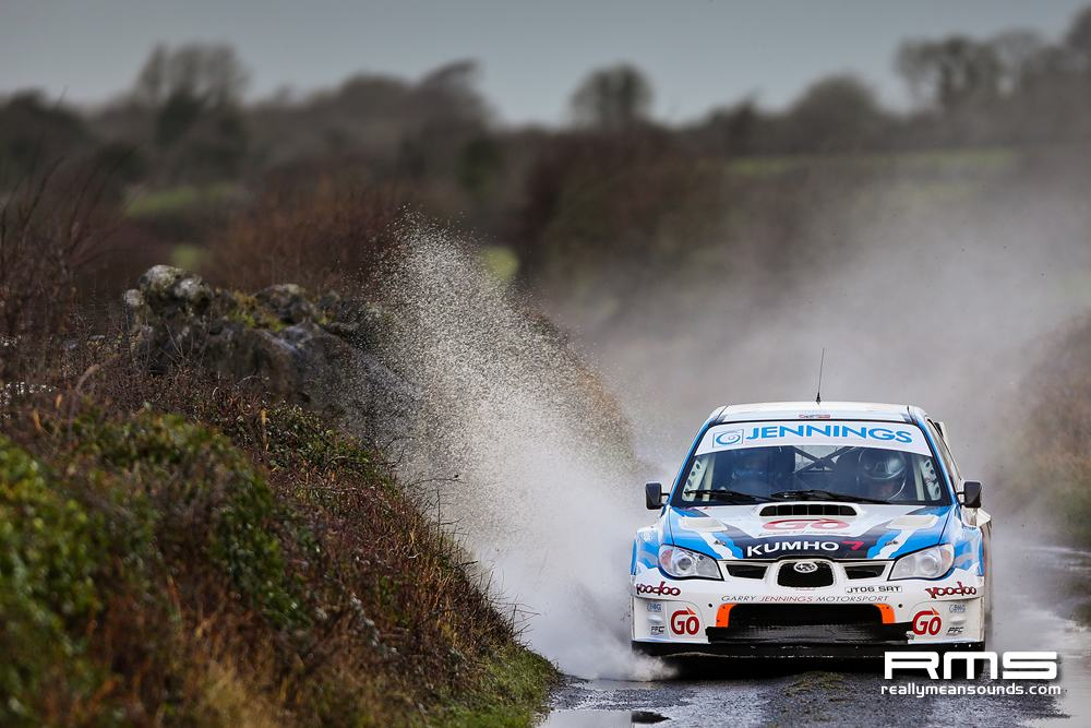 Garry Jennings Galway International Rally 2014