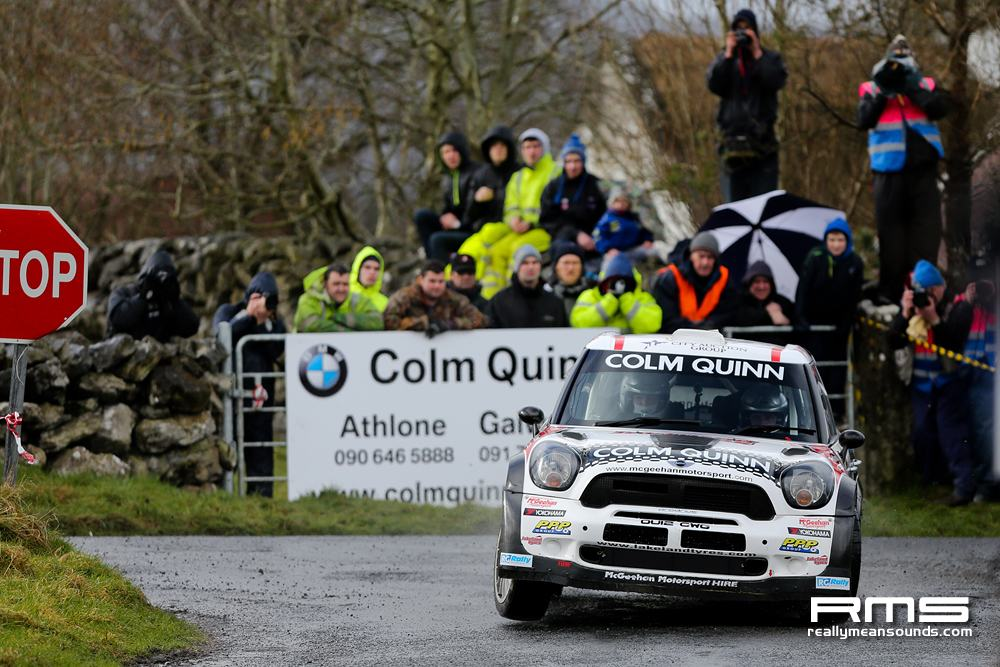 Eugene Donnelly Galway International Rally 2014