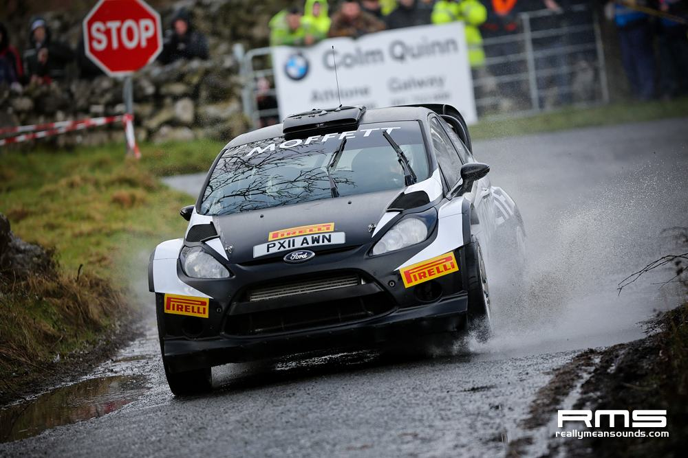 Sam Moffett Galway International Rally 2014