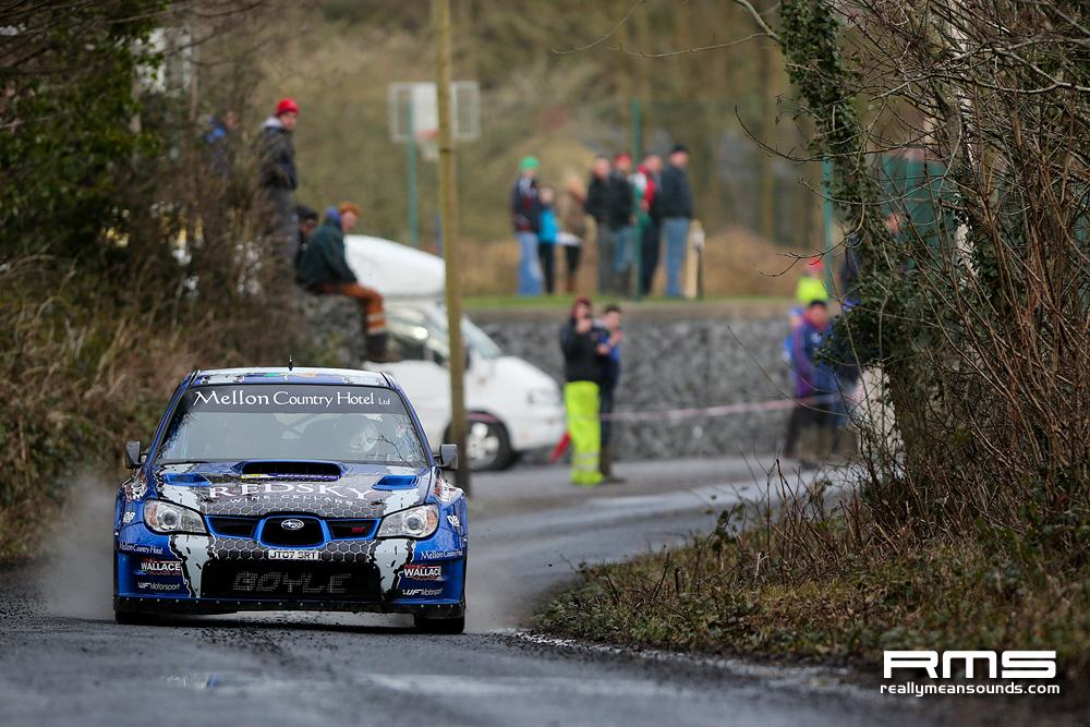 Declan Boyle Galway International Rally 2014