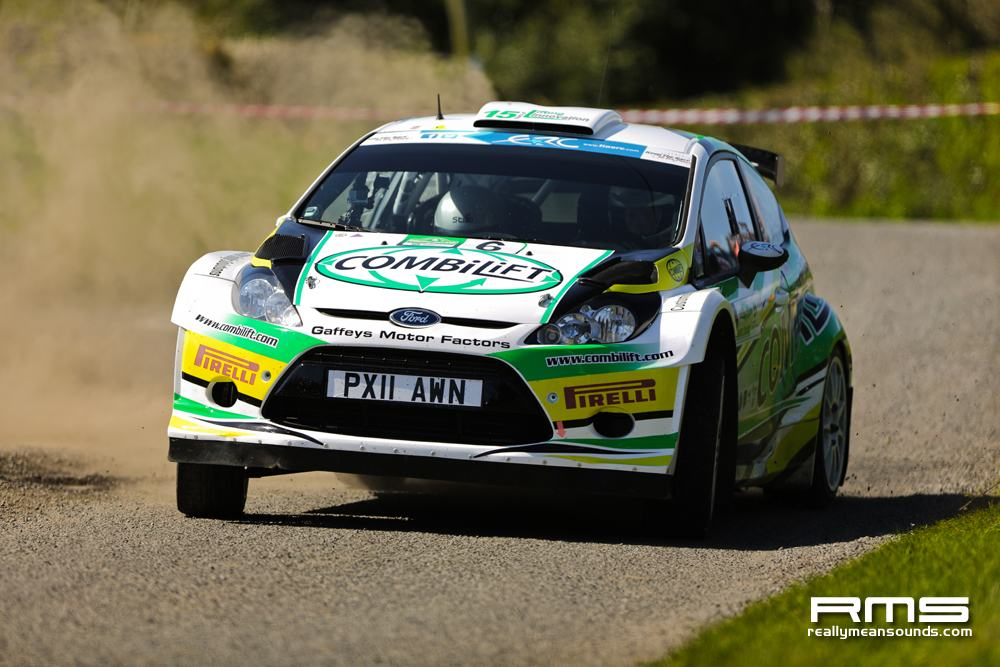 Sam Moffett Circuit of Ireland Rally 2014