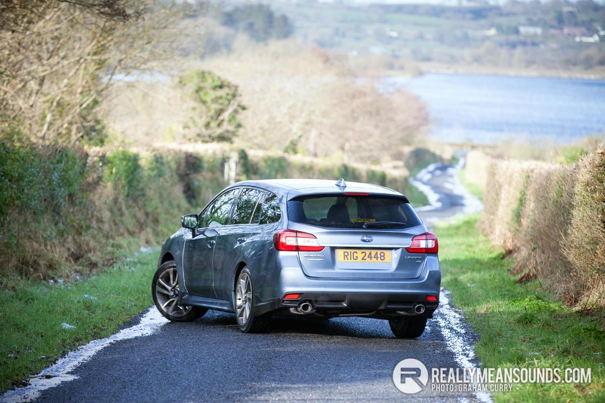 Subaru Levorg Road Test - Super handling load lugger