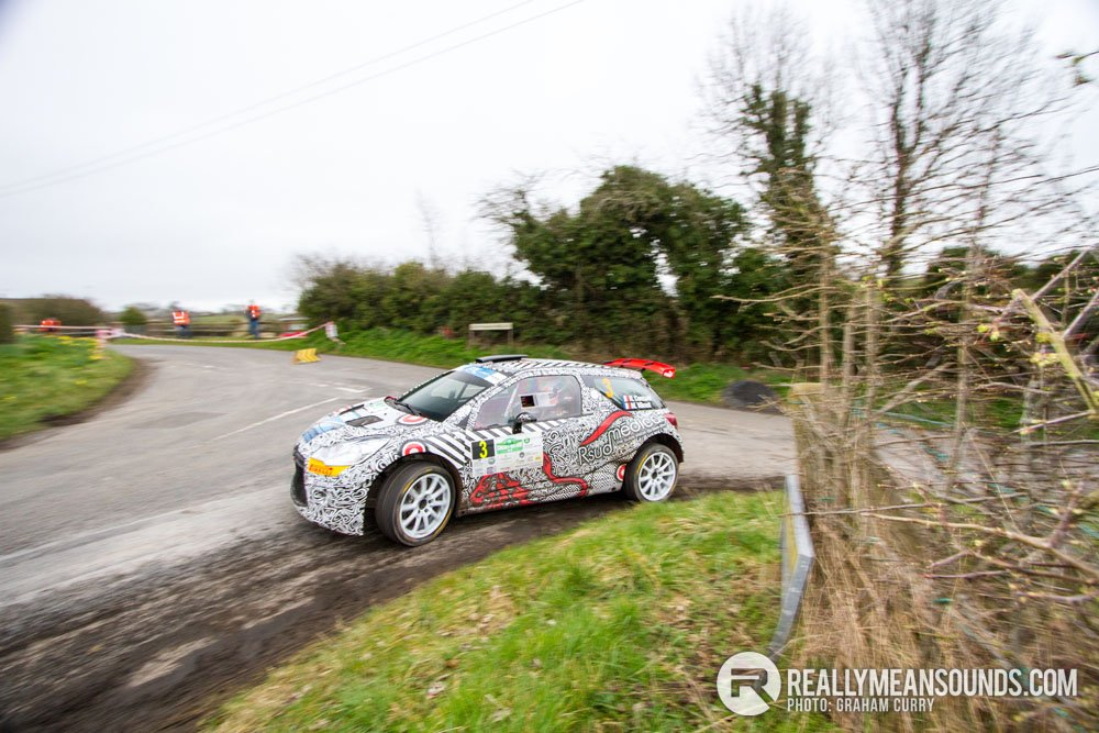 Robert Consani Circuit of Ireland Rally 2015