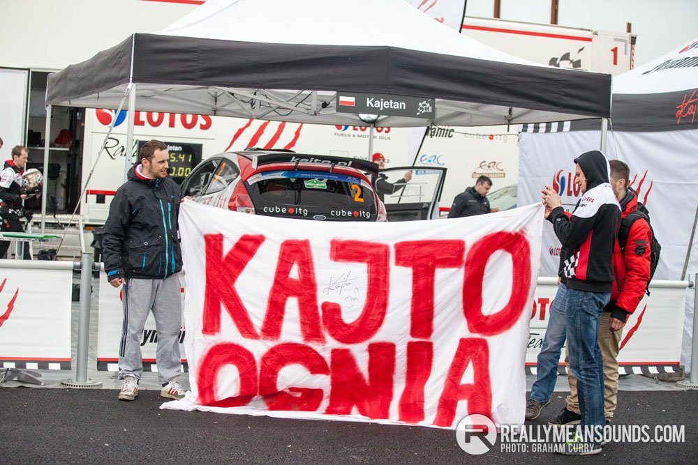 Kajto Kajetanowicz Circuit of Ireland Rally 2015