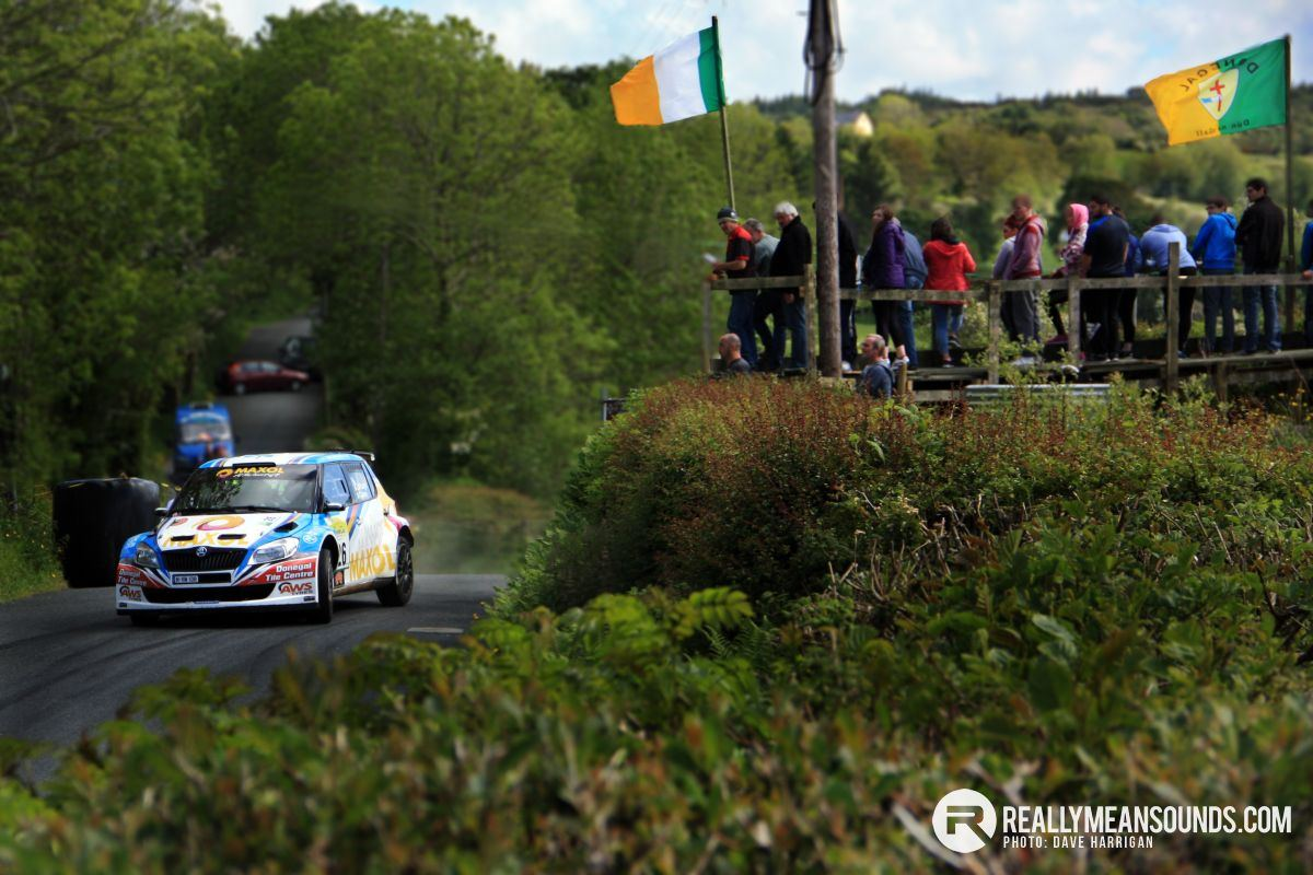 Joe McGonigle Donegal International Rally 2015