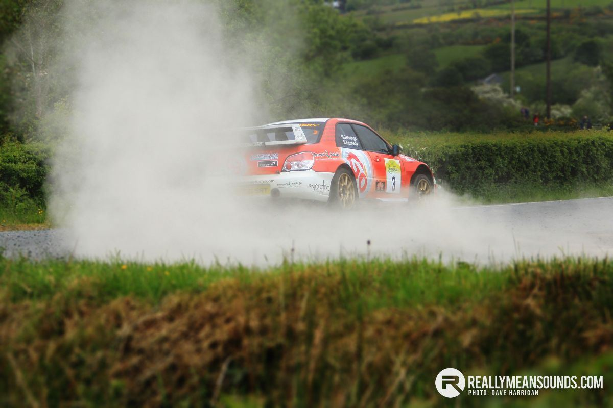 Garry Jennings Donegal International Rally 2015 - RMS
