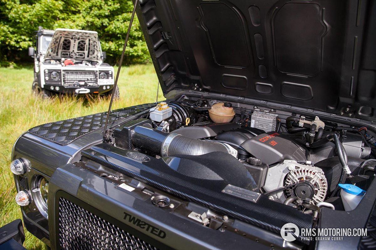 Double Defenders: Wildcat V8 & Cummins Land Rovers