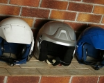 Helmet hire on site