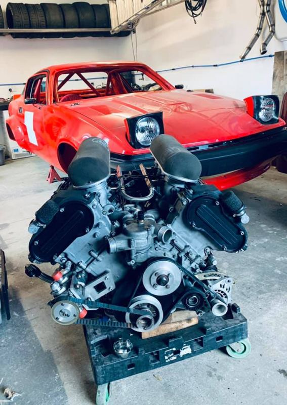 Iains-BMW-M5-engine-awaiting-fitment-to-the-in-build-TR7(S3)