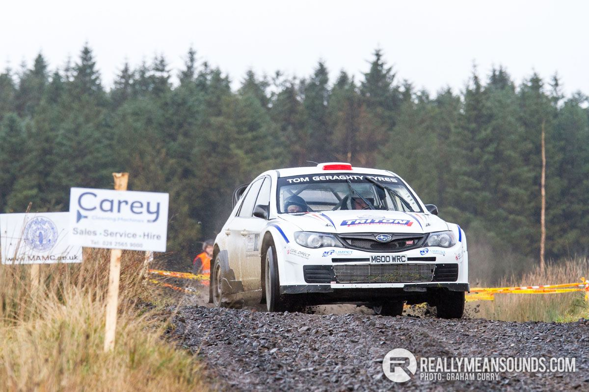 Icebreaker Rally - Kenny McKinstry Winner