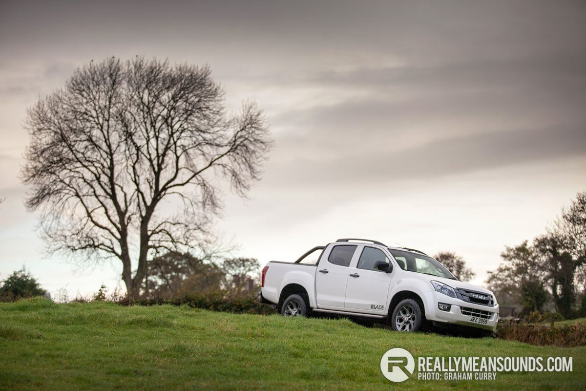 Isuzu D-Max Blade road test