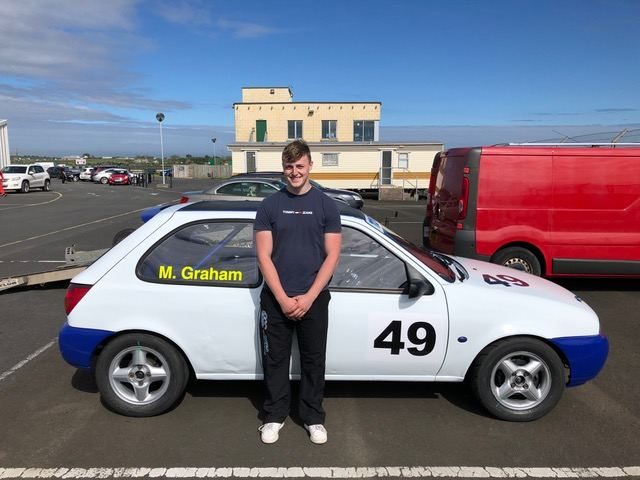 Michael Graham has two excellent fourth places on his first day of racing!(S3)