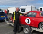Gregory McMillan won and set a new lap record in the Modi-5-Cup races on his first day of racing!(S3)