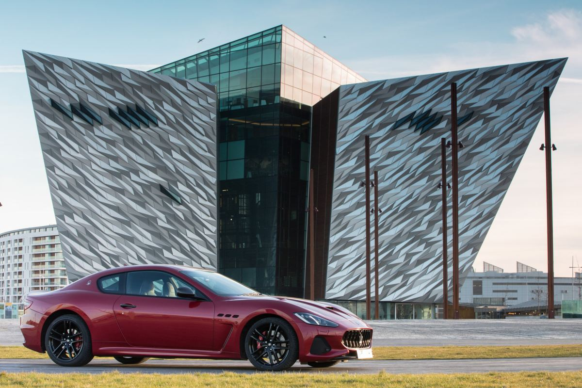 Maserati GT  Titanic Hotel, Belfast 20.03.2018  Photos - Jed Leicester