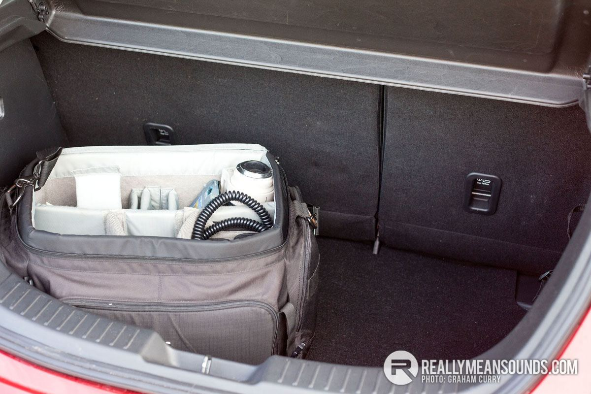 Mazda 2 Review - ample boot space