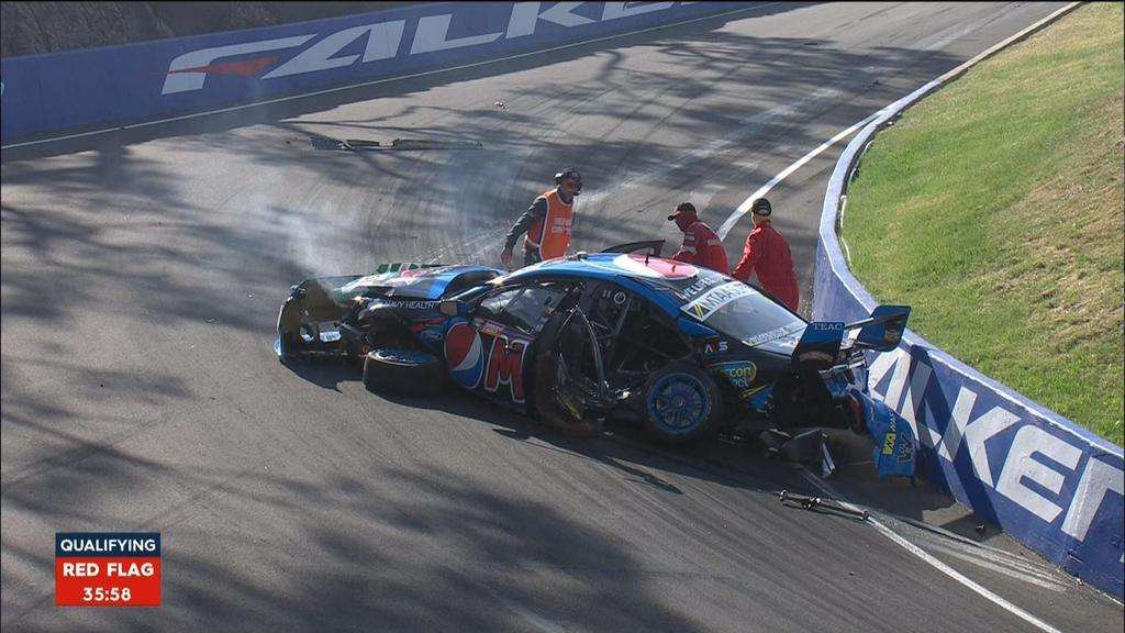 Chas Mostert Bathurst 1000 crash