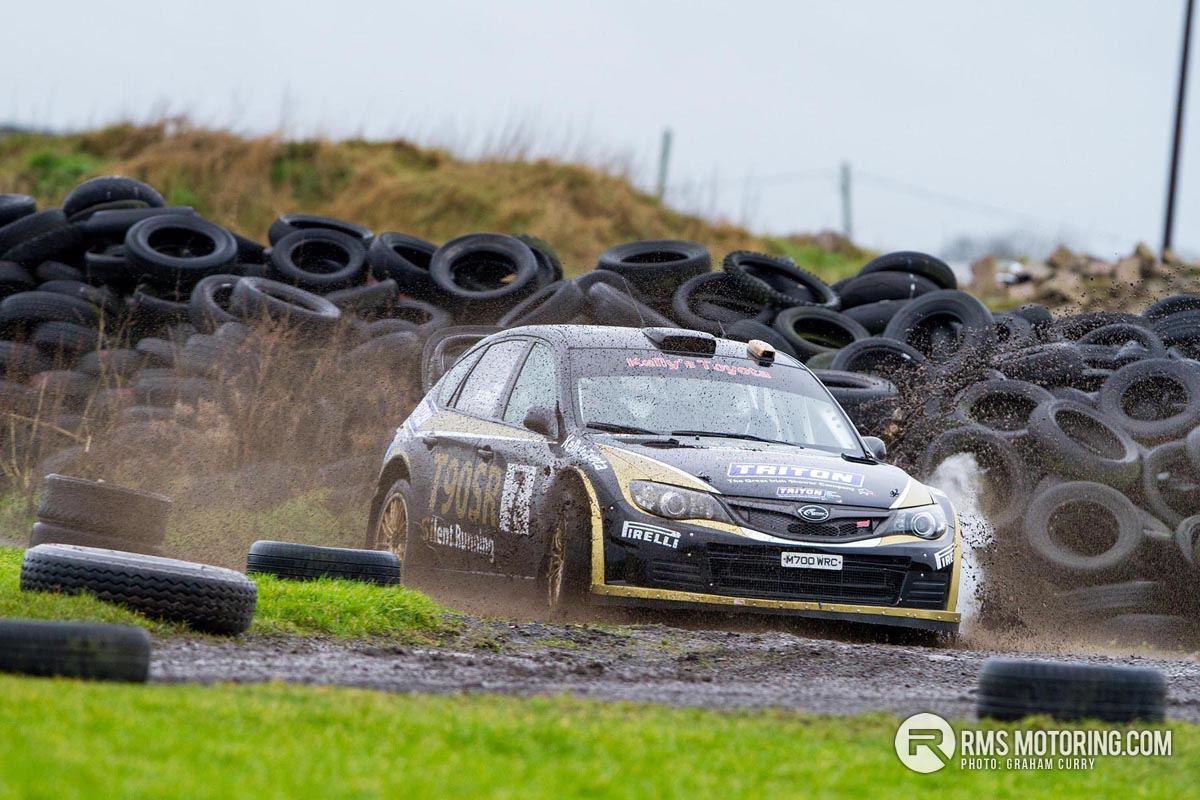 Mark Massey Subaru Impreza S14 WRC New Year Stages Kirkistown