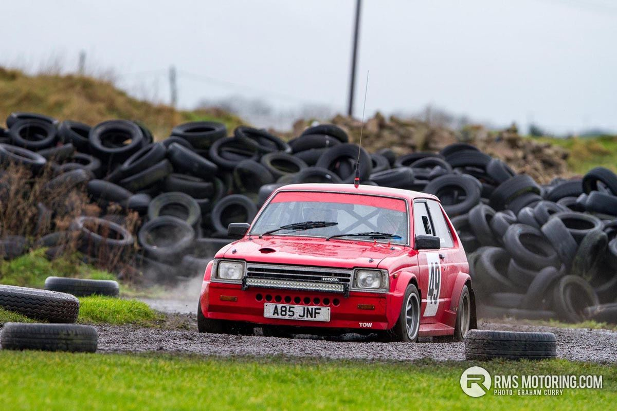 Toyota Starlet Rally Car New Year Stages 2018