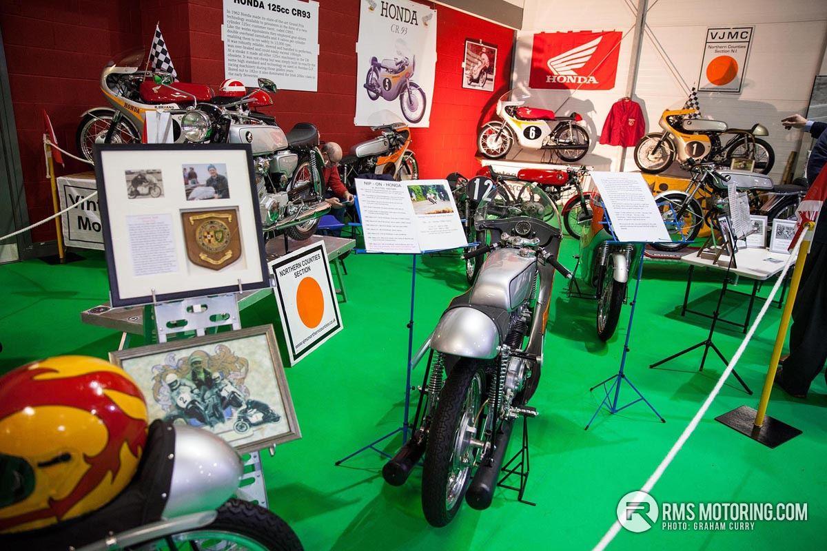Historic Honda Motorbikes NI Motorcycle Festival 2018