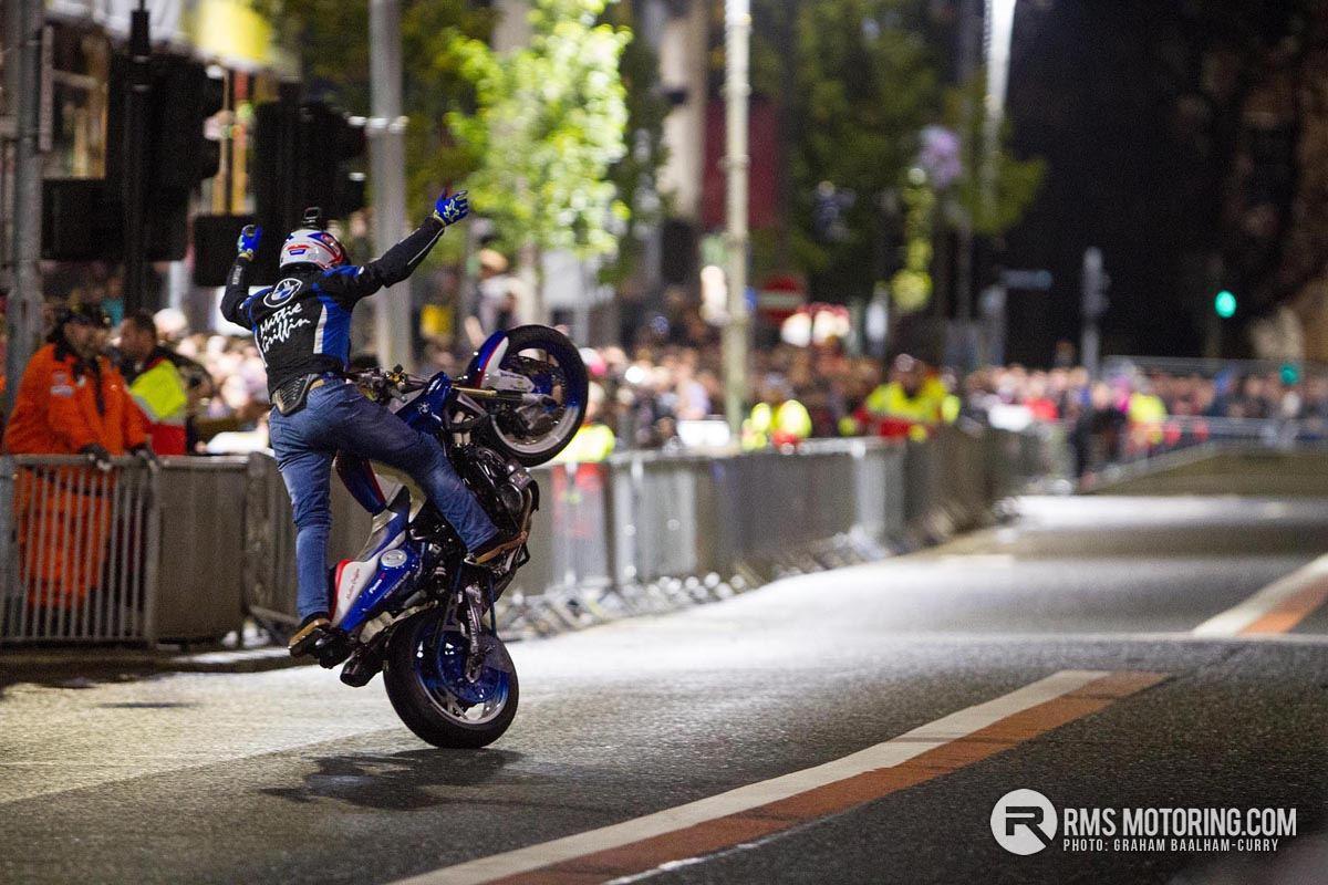 Redbull F1 Showrun hits Belfast City Centre