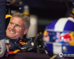 Scotland's David Coulthard, a former Formula One driving star, ripped up the streets of Belfast City Centre last night in a Red Bull Racing, 'RB8' Formula One racing car in front of thousands of spectators on a damp autumnal evening...