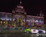 It's not every day you get to see a 15-year-old professional drifter on the streets of Belfast City Centre, but here is Cork youngster Conor Shanahan bringing the sport to the people during the Red Bull Formula One display...