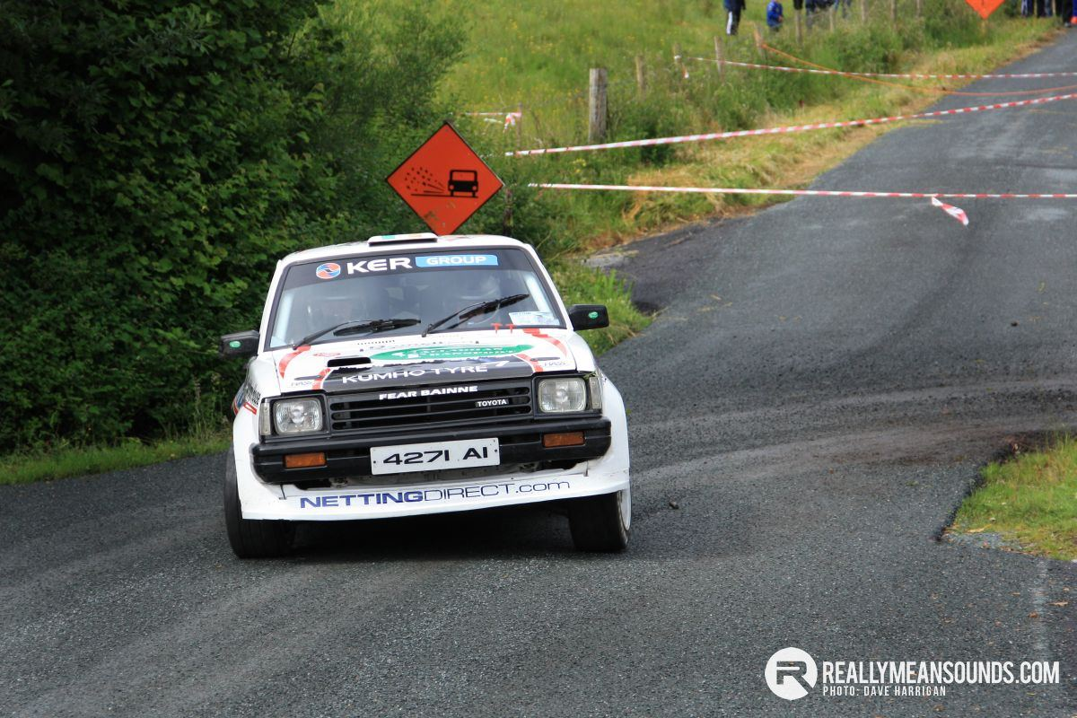 Declan Gallagher Toyota Starlet sideways