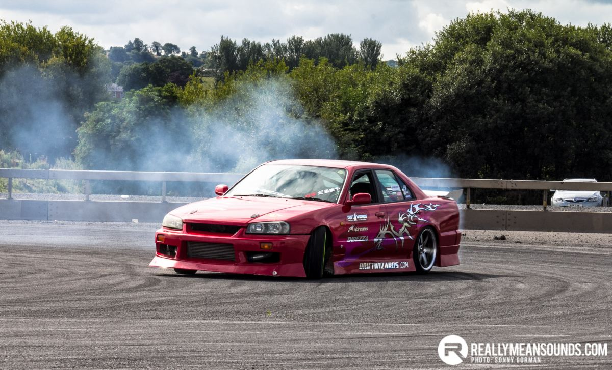 NI Drift provided the sideways entertainment