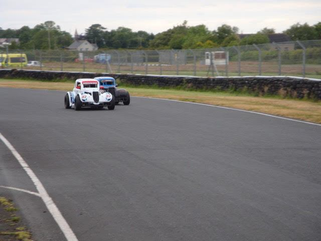 """Ivor """"The Driver"""" Greenwood leads out of Maguire's Hairpin.(S3)"""
